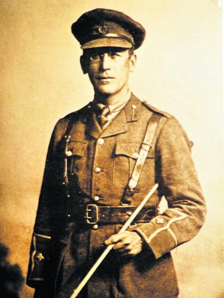 Lieutenant Reginald John Elliott Tiddy 2/4th Oxfordshire and Buckinghamshire Light Infantry